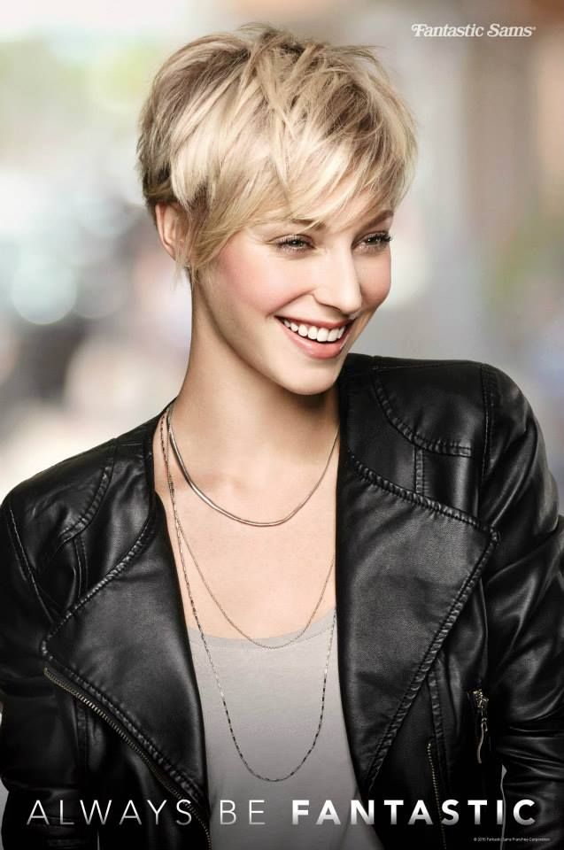 """Pixie Perfect """" Ask Your Stylist For A Layered Pixie Cut With"""