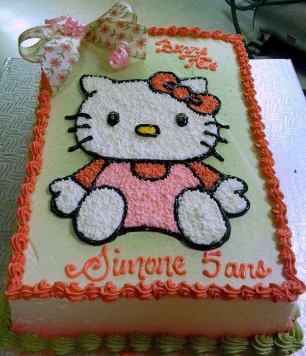 Hello Kitty Birthday Cakes Walmart