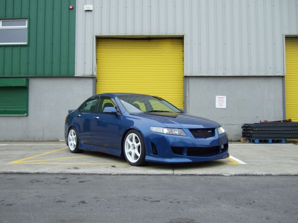 Carbon Culture Mugen Style Body Kit Honda Accord 2003