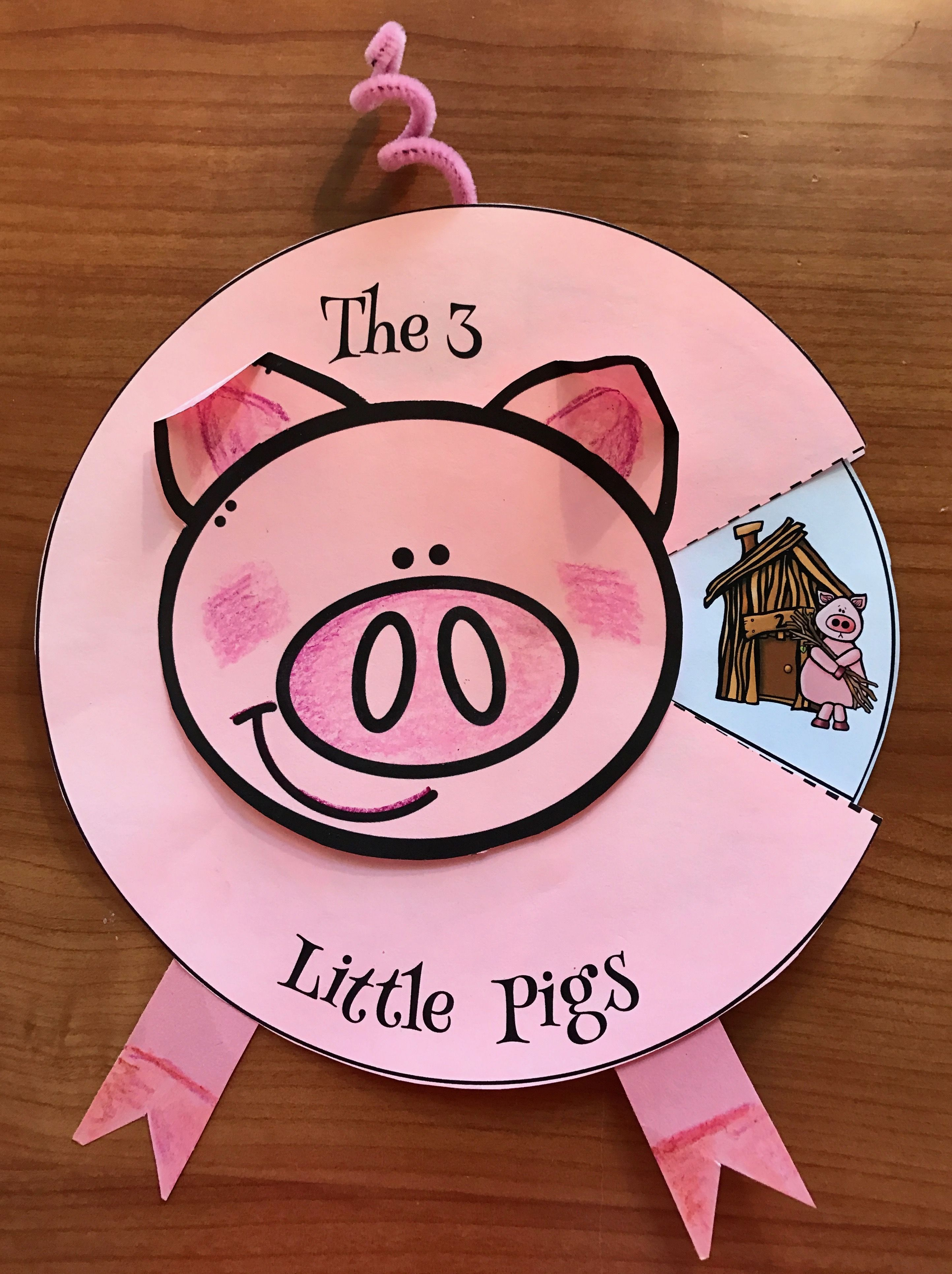 3 Little Pigs Fairy Tale Activities 3 Little Pigs Crafts