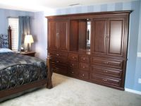 bedroom wall unit ideas