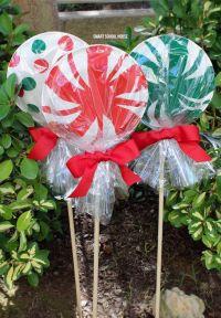 50 Cheap & Easy DIY Outdoor Christmas Decorations | Diy ...