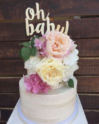 Boho Baby Shower Baby Shower Party Ideas | Baby cake ...