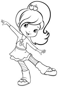 Free Printable Coloring Pages Cartoon Strawberry Shortcake ...