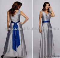 Silver And Royal Blue Bridesmaid Dresses http://www ...