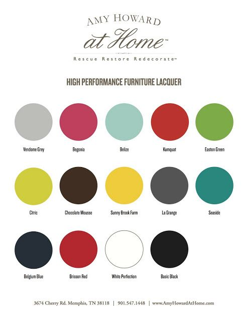 New Paint Line Amy Howard At Home Lacquer Spray