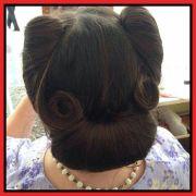 1940s curls rolls