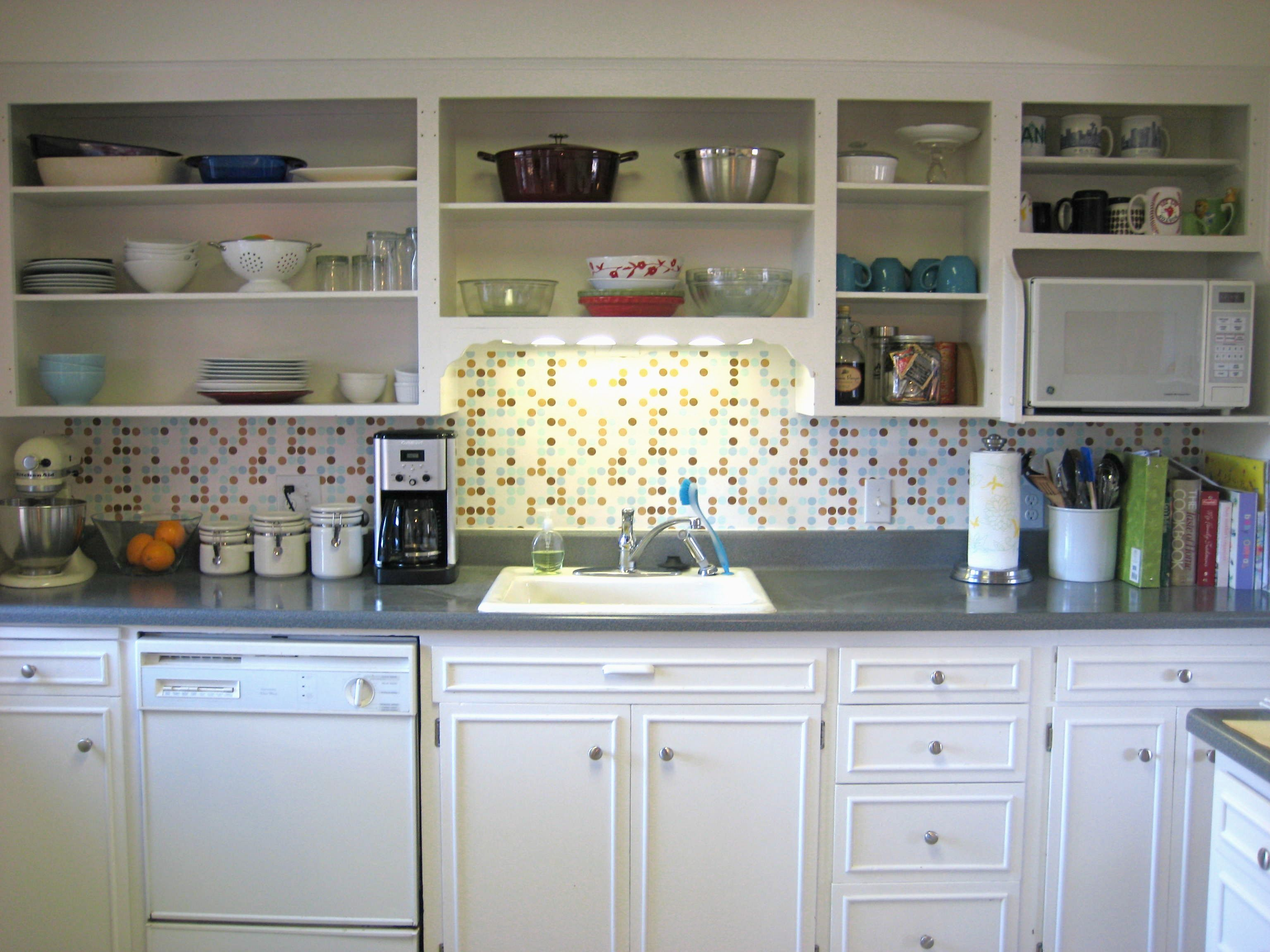 open kitchen cabinets soft flooring options best way to paint a step by guide