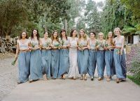 Unique Bridesmaid Dresses Ideas 10