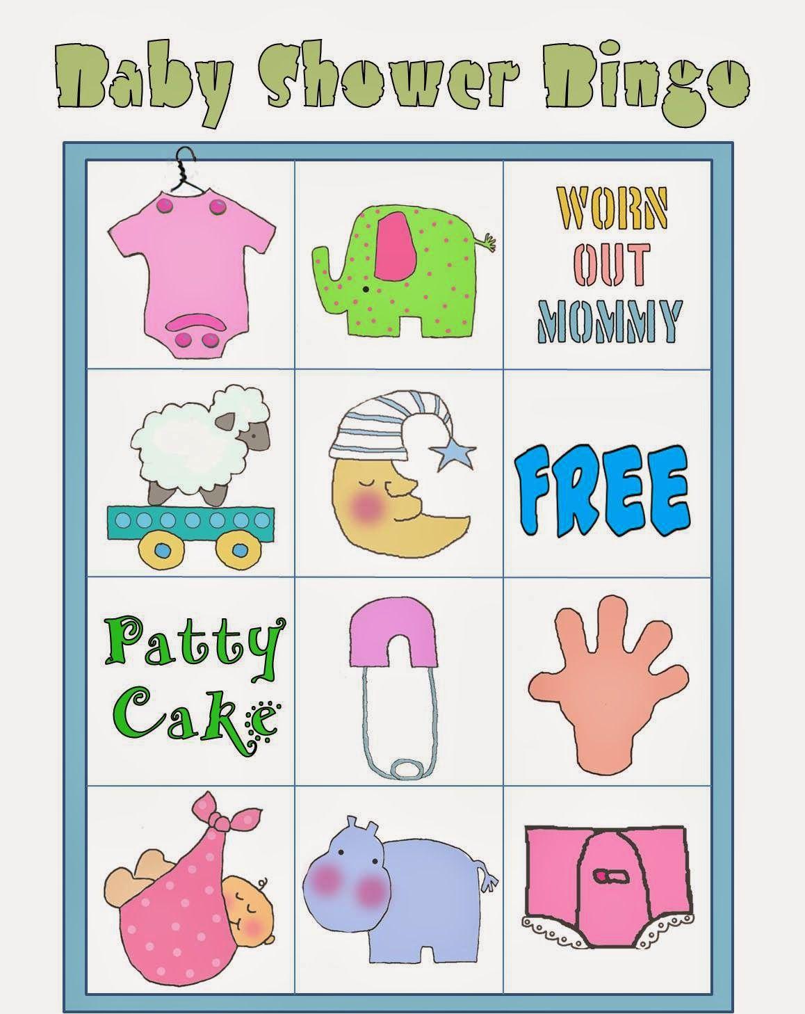 Baby Shower Bingo Para Imprimir Gratis 020