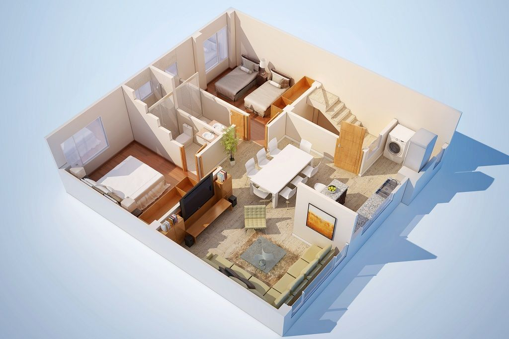 2 Room House Design – House Design Ideas