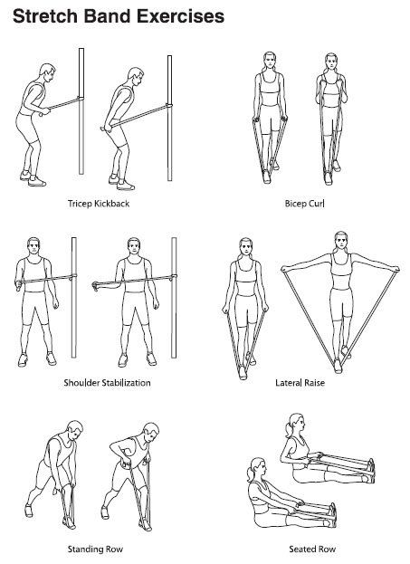 chair exercise for seniors handout purple dining chairs and table stretch band exercises on pinterest | senior fitness, resistance