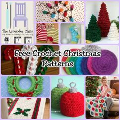 Crochet Christmas Chair Covers Lift Chairs Recliners Covered By Medicare With These Patterns You Can Decorate