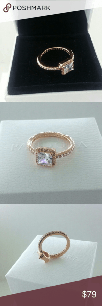 Pandora Rose Gold Timeless Elegance Ring # 6 Pandora Rose