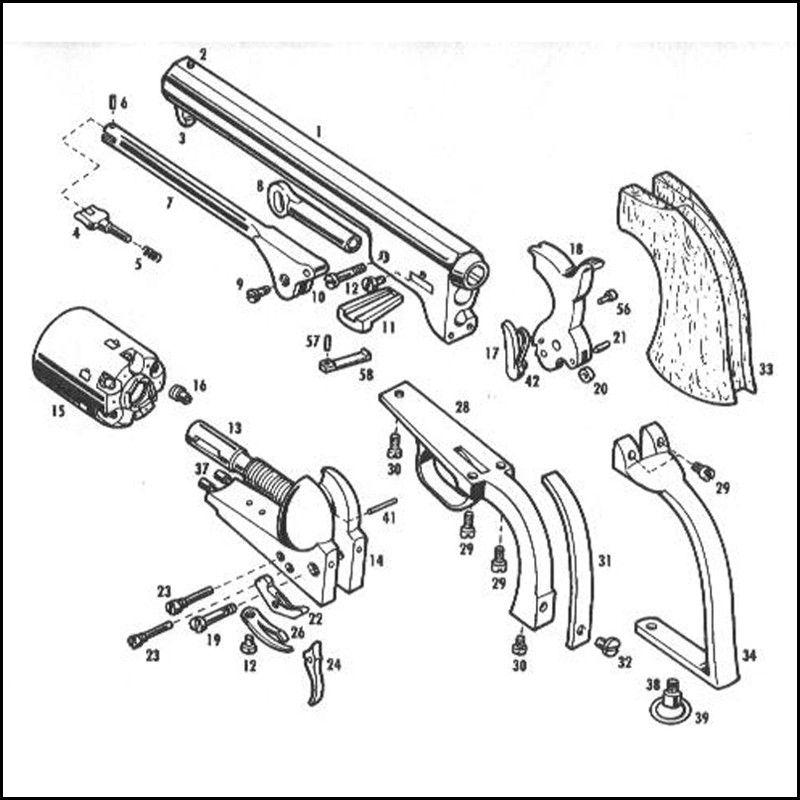 Pietta 1851 Navy Revolver Parts - Auto Electrical Wiring Diagram