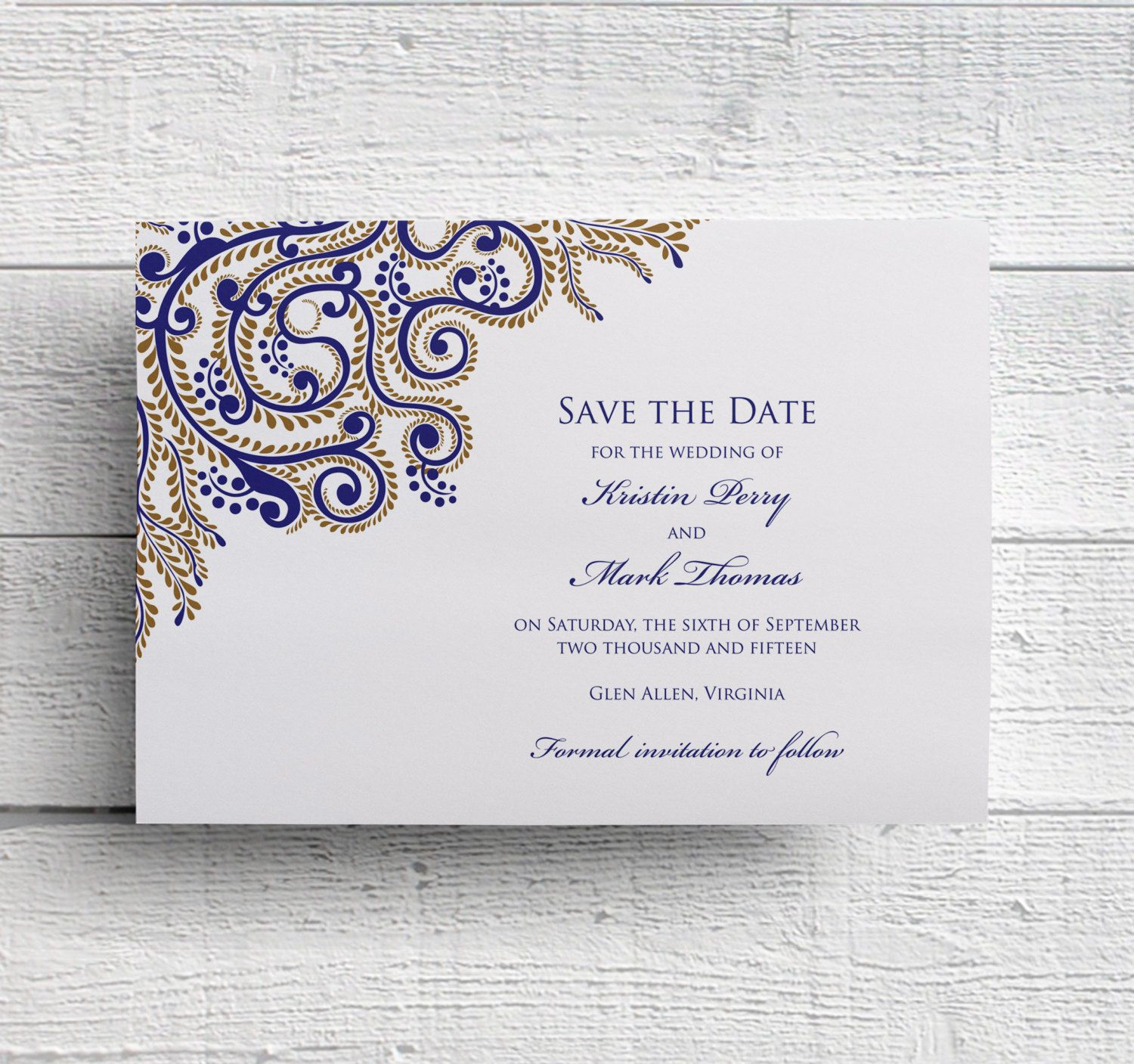 Save Date Cards Online India