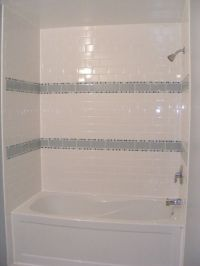 Bathroom Amusing Bath Tile Ideas Beautiful Gloss White ...
