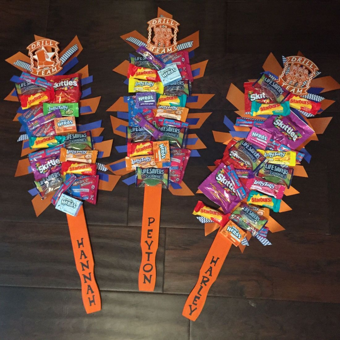 Candy spirit sticks great team gifts use free paint