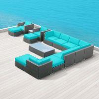 Amazon.com : Modern Outdoor Patio Furniture Wicker Bella ...