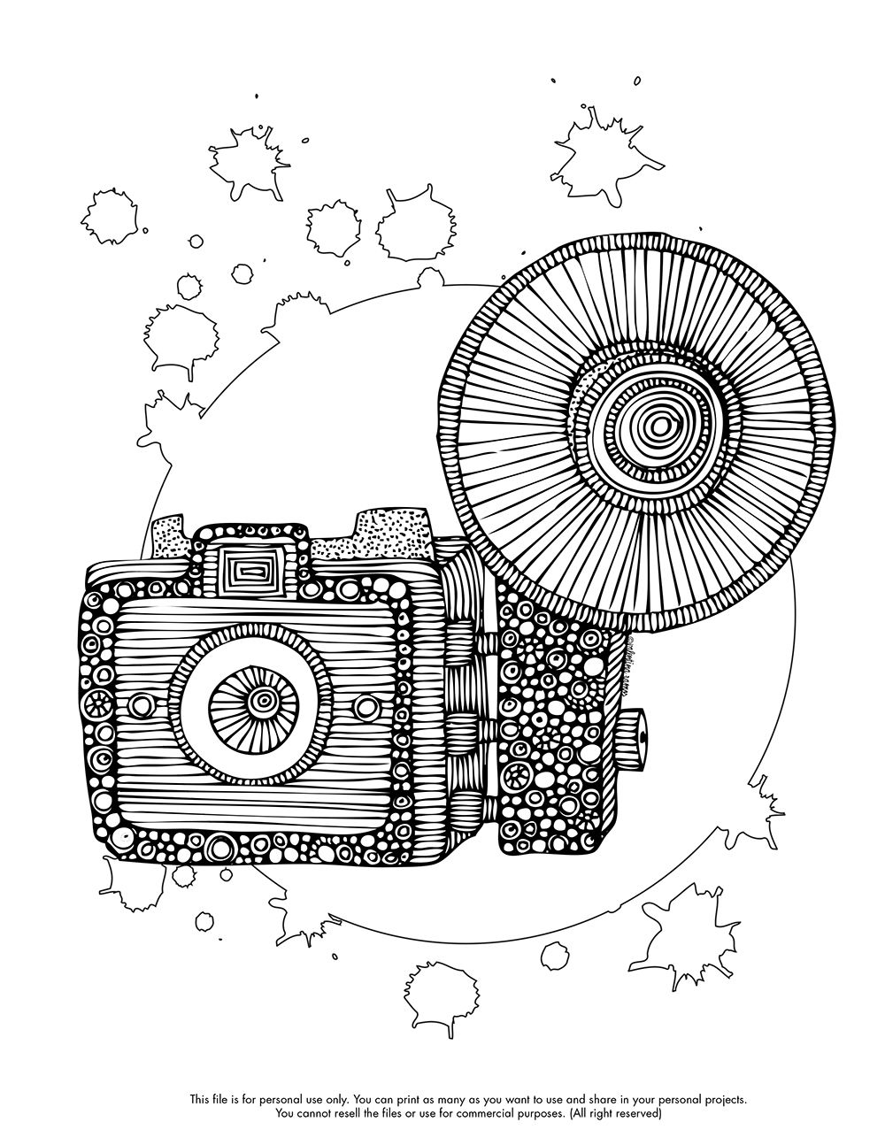 Happy Coloring Monday! Here you free coloring page: http