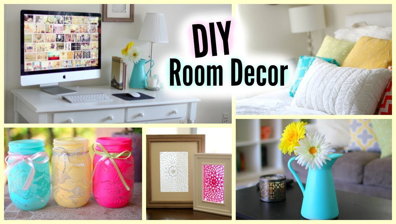 DIY Room Decor  Cute and Affordable Decorations  DIY