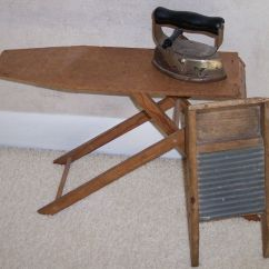 Chair Step Stool Ironing Board Office Workout Equipment Antique | Furniture