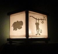 Night light for jungle / safari / African animals / zoo ...