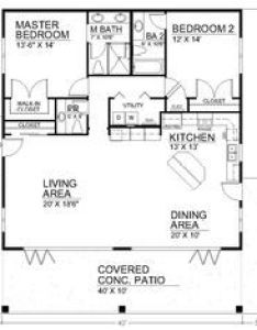 sq ft bedroom floor plan open house plans also cabin rh pinterest