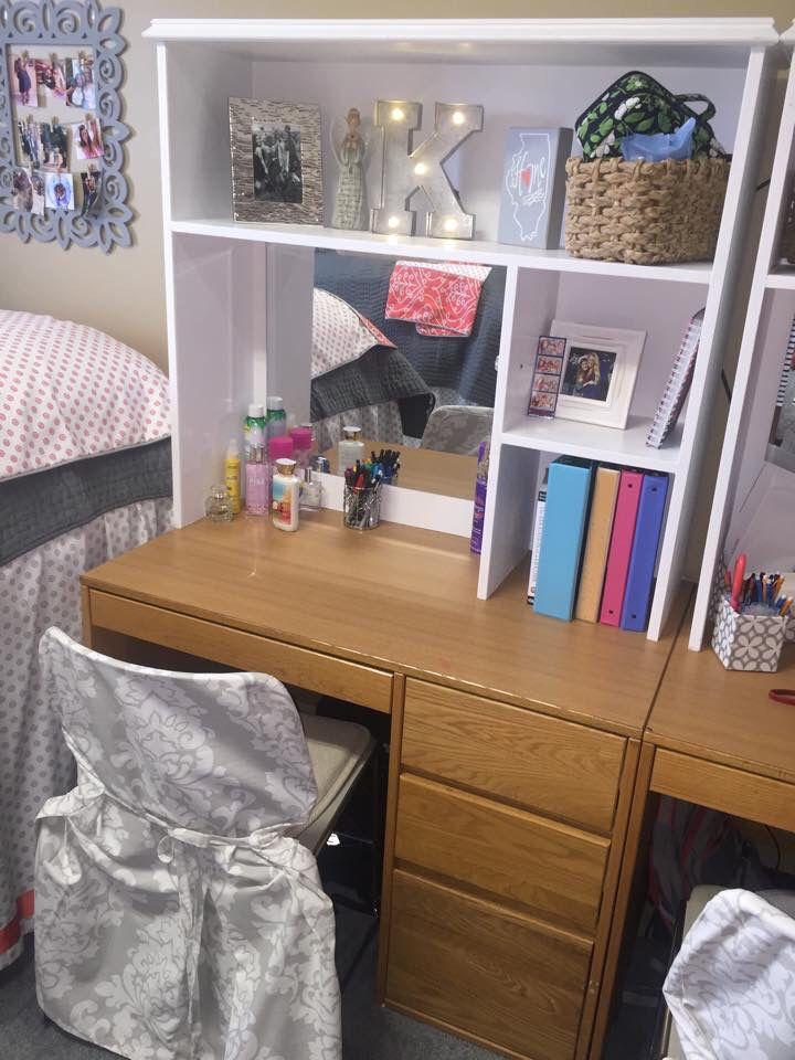 Ole Miss Martin Dorm room  desk hutches Perfect for