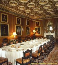 Dining Room, Longleat House adjacent to the village of ...