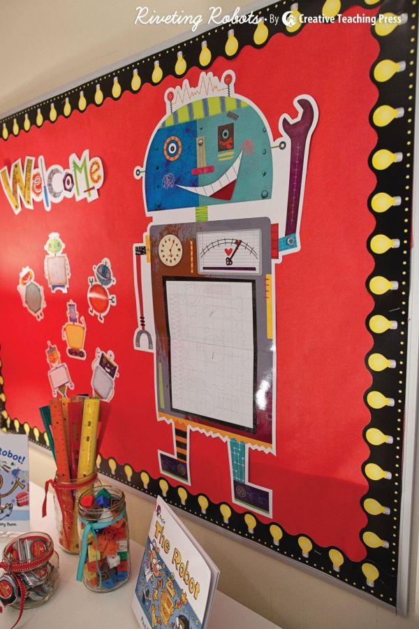 Robot Bulletin Boards Classroom