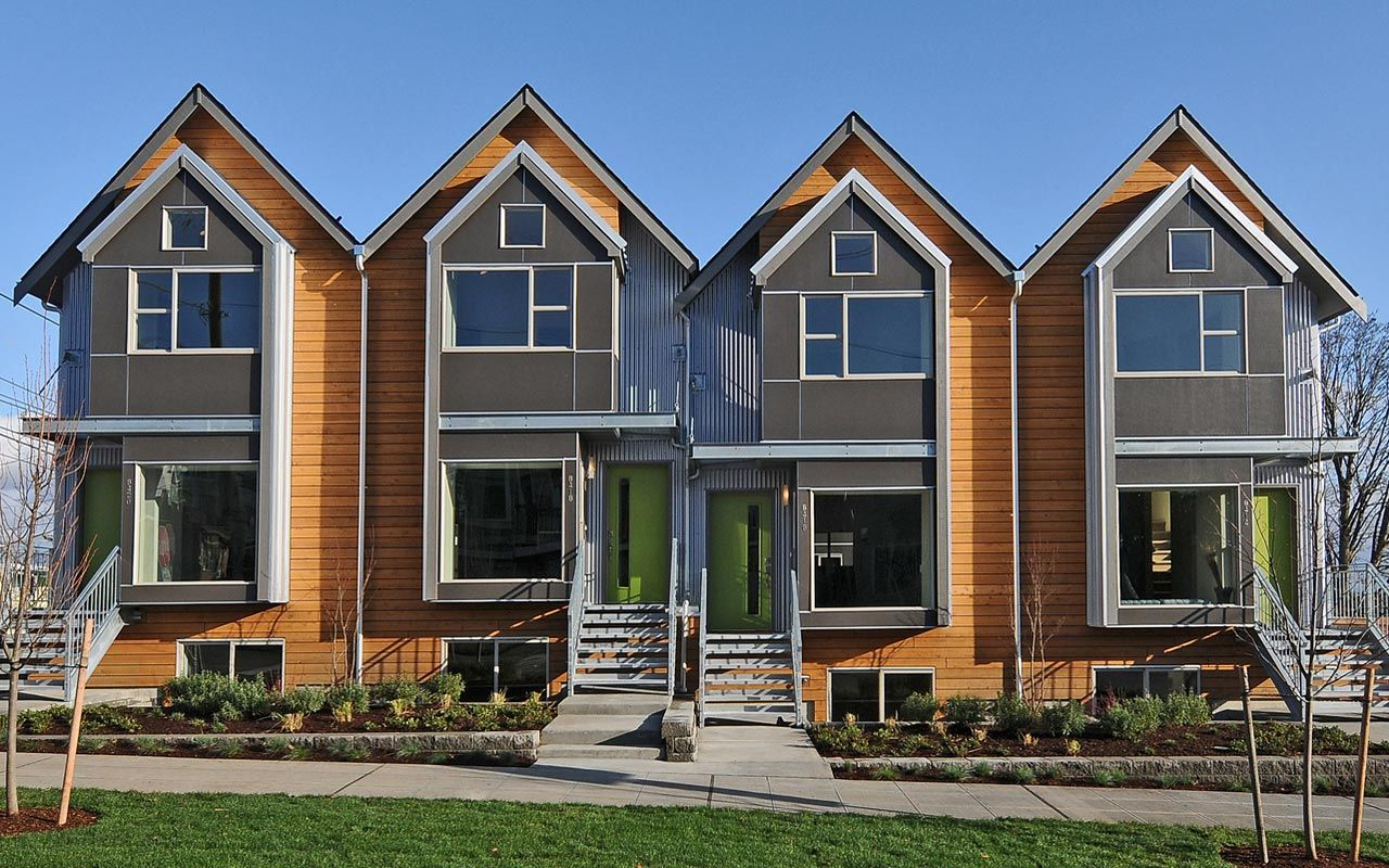 SHUGART WASSE WICKWIRE  Architecture  Interiors Seattle   Sunset Court  Pinterest