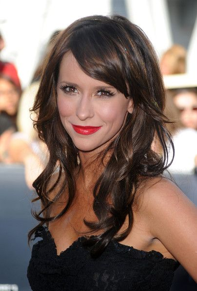 More Pics Of Jennifer Love Hewitt Long Curls With Bangs Tousled