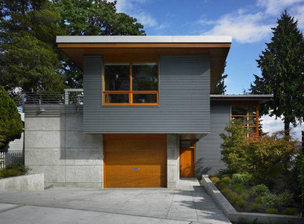 12 Metal Clad Contemporary Homes Metal Siding Corrugated Metal