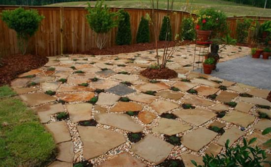Easy And Cheap Patio Ideas Beautiful Garden And Patio Paving