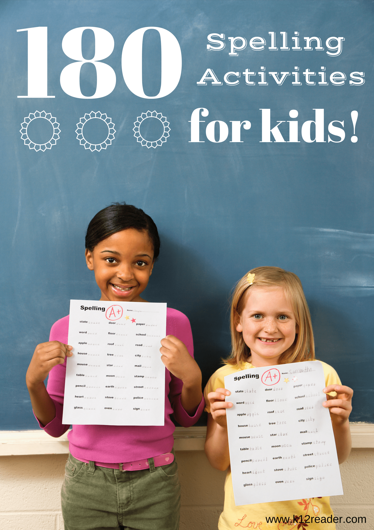 First Grade Spelling Words Free 1st Grade Weekly List