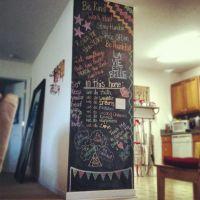chalkboard wall art   Mo's Makings   Pinterest ...