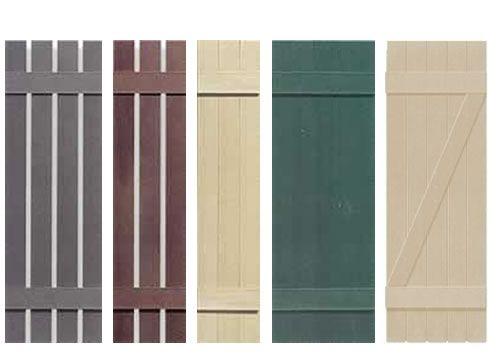 Wood Shutter Designs Cheap Discounted Exterior Window Shutters