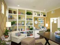 full wall shelving ideas | Tags : wood brackets , wall ...