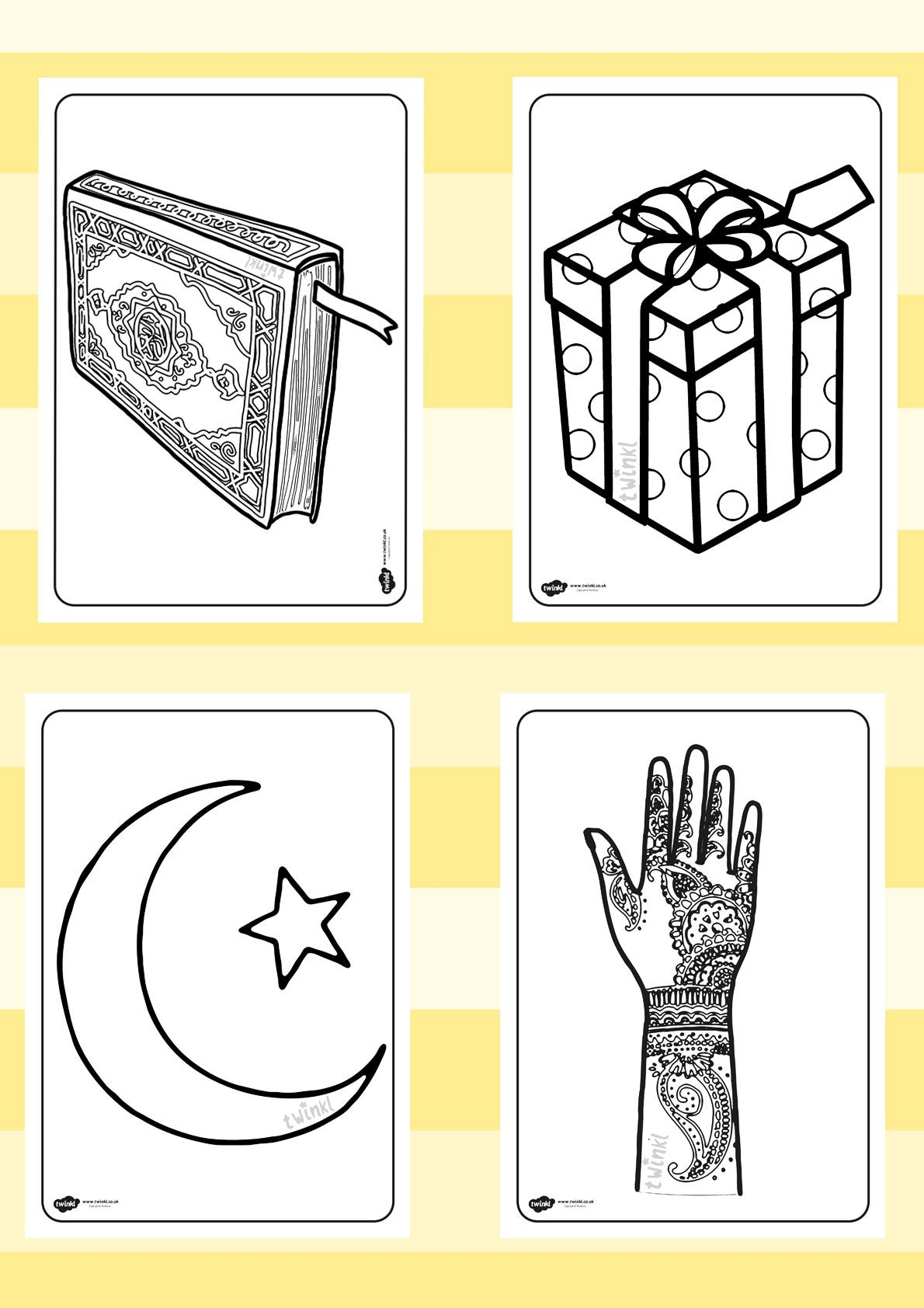 Twinkl Resources Gt Gt Eid Colouring Sheets Gt Gt Printable