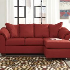 Ashley Red Leather Sofa Stylish Beds Sydney Best Furniture 81