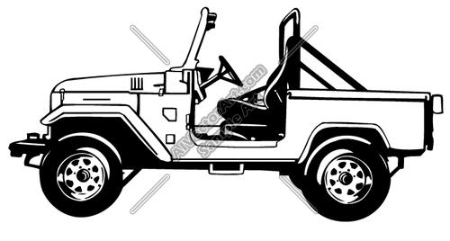 Jeep Clipart And Vectorart Vehicles Off Road Atv Vectorart