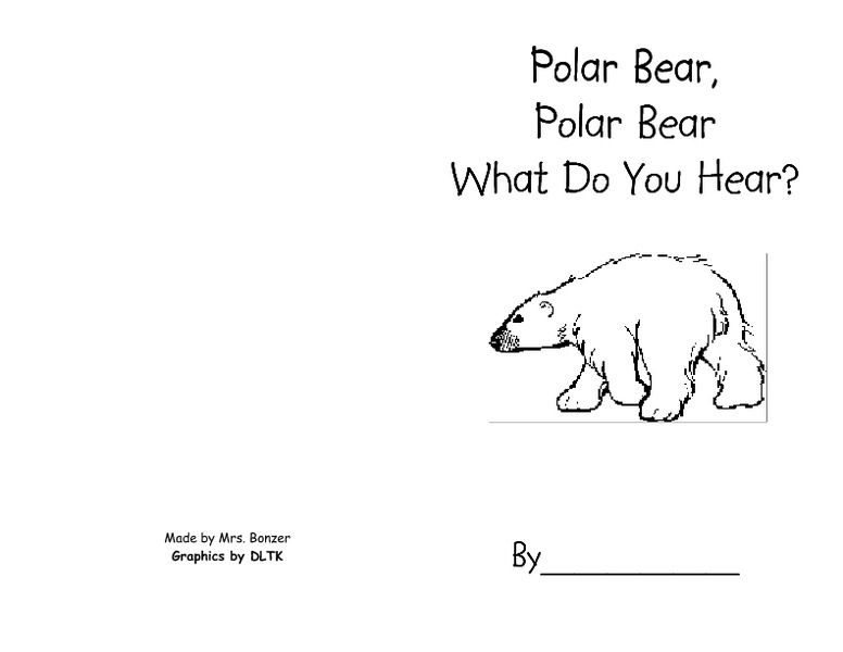 Cards Polar Sequencing Hear Bear You What Do Polar Bear