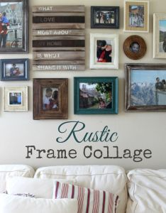 Picture frame collage ideas for wall also http umadepa pinterest rh
