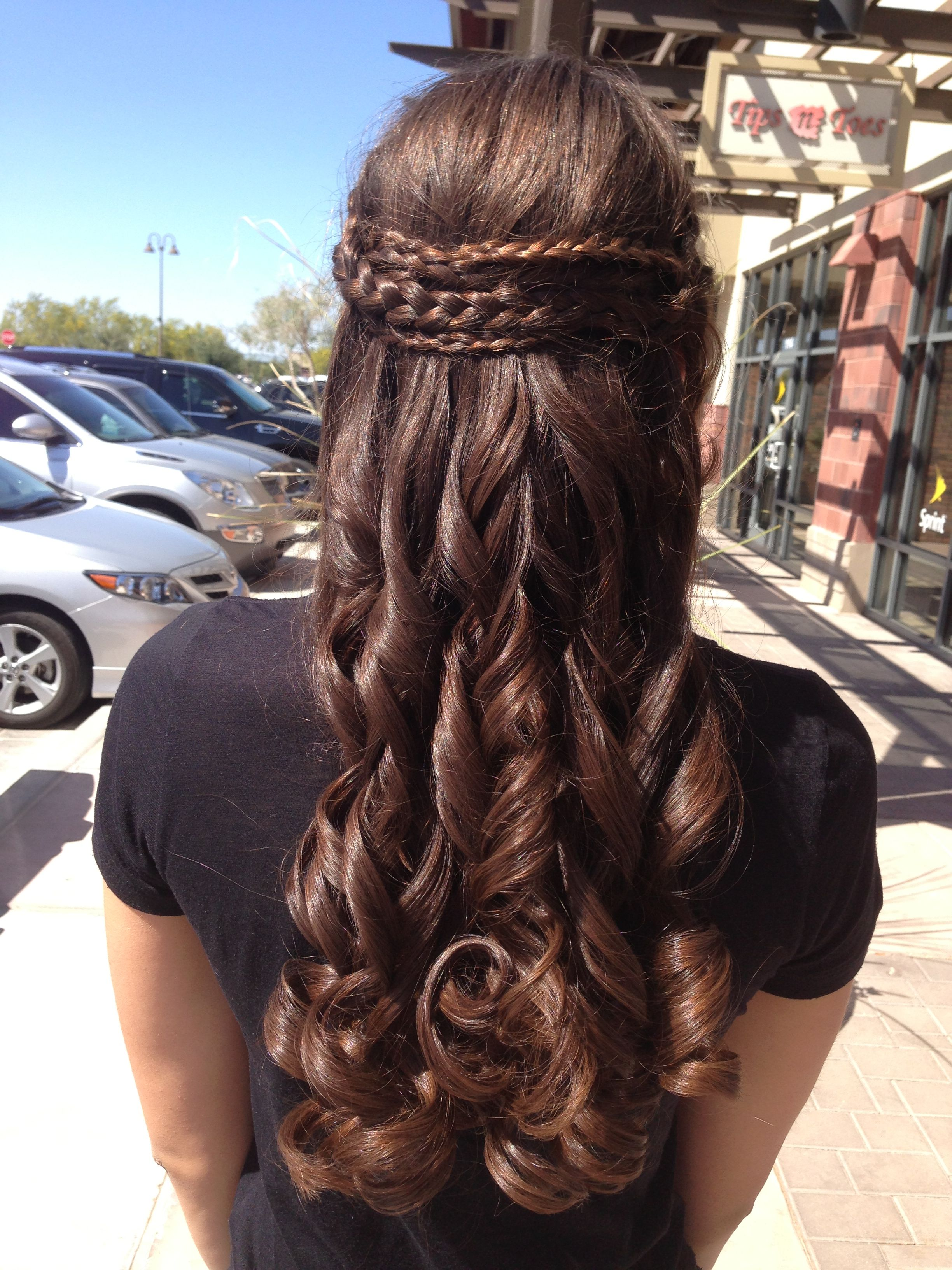 Prom Hair❤ Hair Pinterest