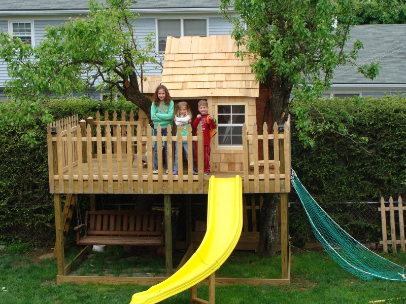 Kids Tree House Ideas Landscaping Ideas & Garden Ideas > Kids