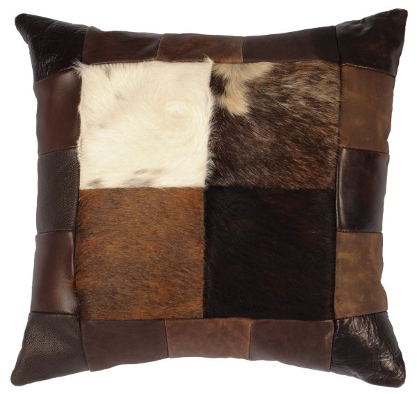 Hide Leather Pillow