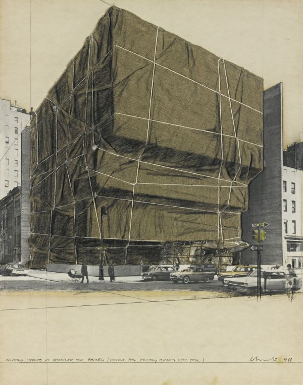 Artchiculture Christo . 1935 Whitney Museum Of
