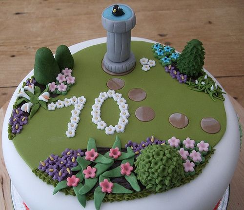 Garden Cake Gardening Cake Ideas Pinterest Gardens Thinks