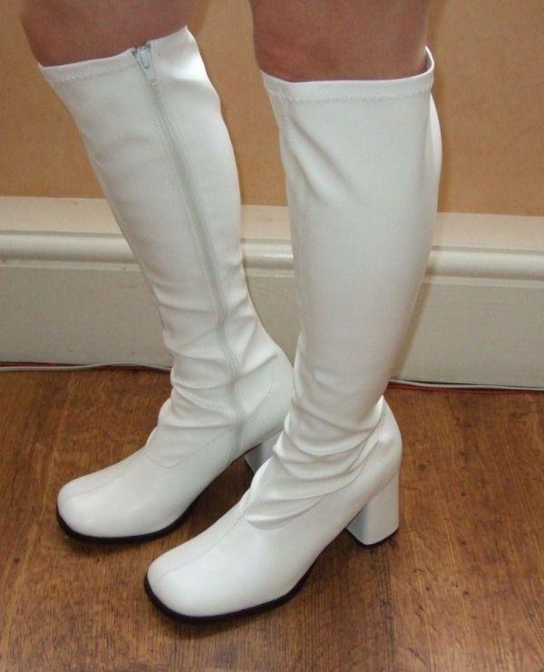 White - Boots. Beatles La